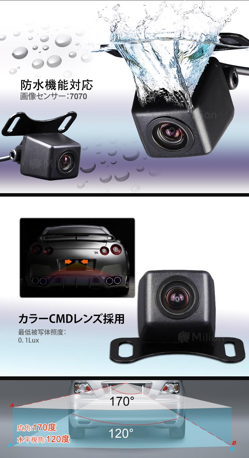 EononDVDプレイヤーバックカメラ連動